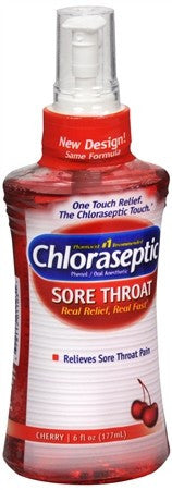 Chloraseptic Sore Throat Spray Cherry - 6 oz