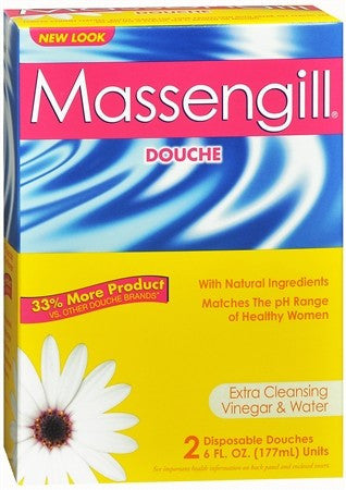 Massengill Disposable Douches (2) - 9 oz