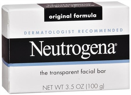 Neutrogena Facial Cleansing Bar Original Formula - 3.5 oz