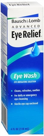 Bausch + Lomb Advanced Eye Relief Eye Wash - 4 oz