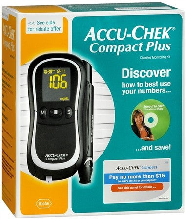 ACCU-CHEK Compact Plus Blood Glucose Monitoring System - 1 ea