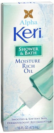 Alpha Keri Shower & Bath Moisture Rich Oil - 16 oz