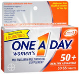 One A Day Women's 50+ Healthy Advantage Multivitamin/Multimineral Tablets - 65 tabs