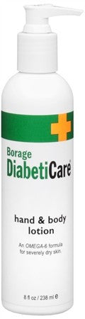 Borage DiabetiCare Hand and Body Lotion - 8 oz