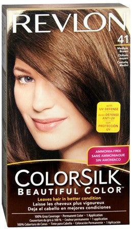 Revlon ColorSilk Hair Color 41 Medium Brown - 1 ea