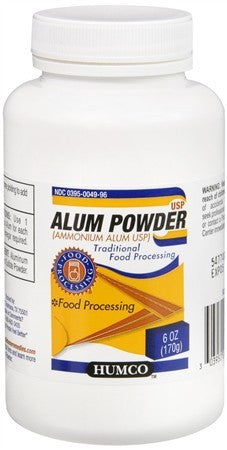 Humco Alum Powder - 6 oz
