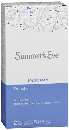Summer's Eve Douche 2 Pack Medicated - 9 oz