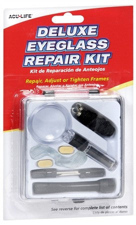 Acu-Life Deluxe Eyeglass Repair Kit - 1 ea