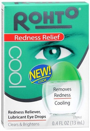 Rohto Cool Redness Relief Eye Drops - 0.4 oz