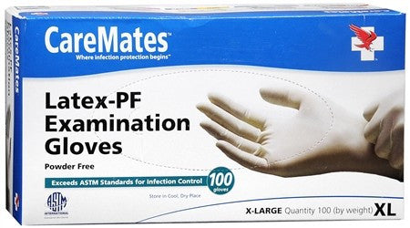 CareMates Examination Gloves 10314020 - 100 ea