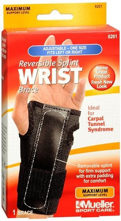 Mueller Sport Care Reversible Splint Wrist Brace One Size 6261 - 1 ea