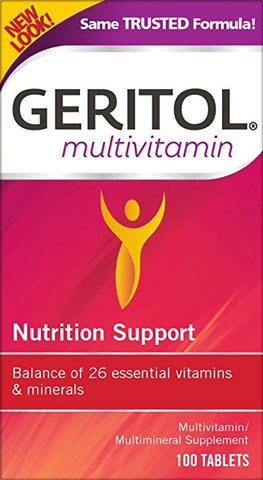 Geritol Complete Tablets 100 - 100 tabs