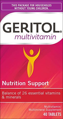 Geritol Complete Tablets - 40 tabs