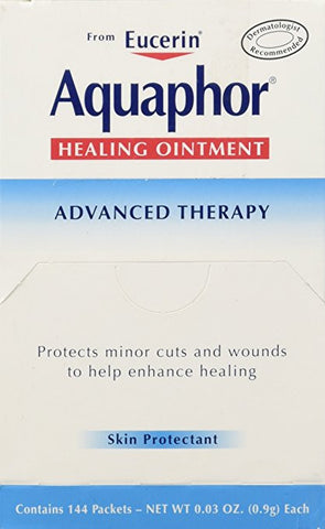 Aquaphor Foil Ointments Packets, Net Wt 0.03oz , 144 Count