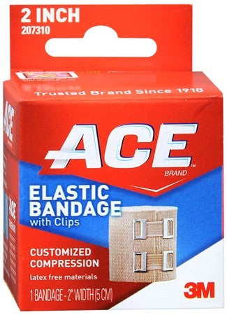ACE Elastic Bandage with Clips 2 Inch - 1 ea