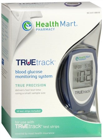Health Mart TRUEtrack Blood Glucose Monitoring System - 1 ea