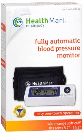 Health Mart Pharmacy Fully Automatic Blood Pressure Monitor - 1 ea
