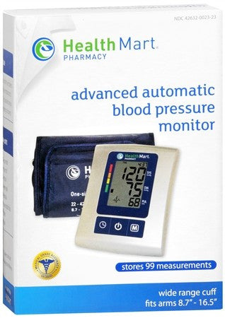 Health Mart Advanced Automatic Blood Pressure Monitor - 1 ea