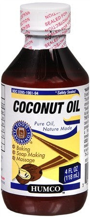 Humco Coconut Oil - 4 oz