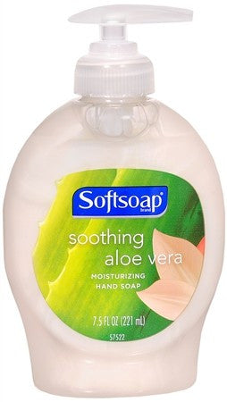 Softsoap Liquid Hand Soap Soothing Aloe Vera - 7.5 oz
