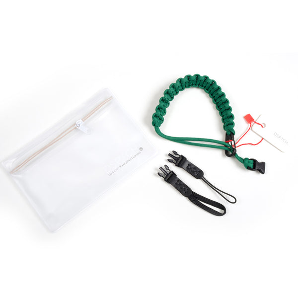 Braided Camera Wrist Strap - Kelly Green
