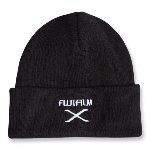 Beanie - Black with Embroidered X-Series Logo