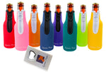Beer Bottle Party Drink Thermal Coolies - pack of 8