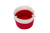 Eximius Power Cotton Rope Basket Woven Baby Laundry Basket for Blankets Toys Storage Basket with Handle Comforter Cushions Storage Bins