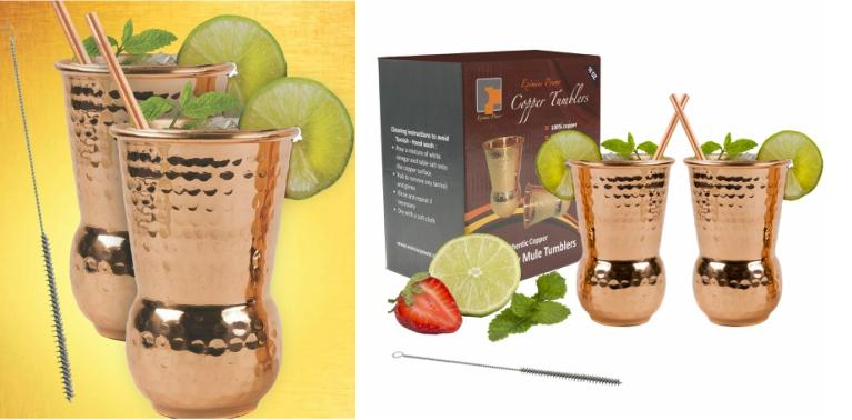 Moscow mule Copper Tumblersl