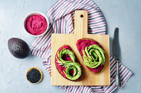 Hummus Gets a Beauty-Boosting Twist with Beets