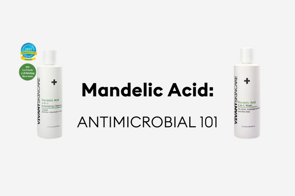 Vivant Skin Care's Mandelic Acid washes