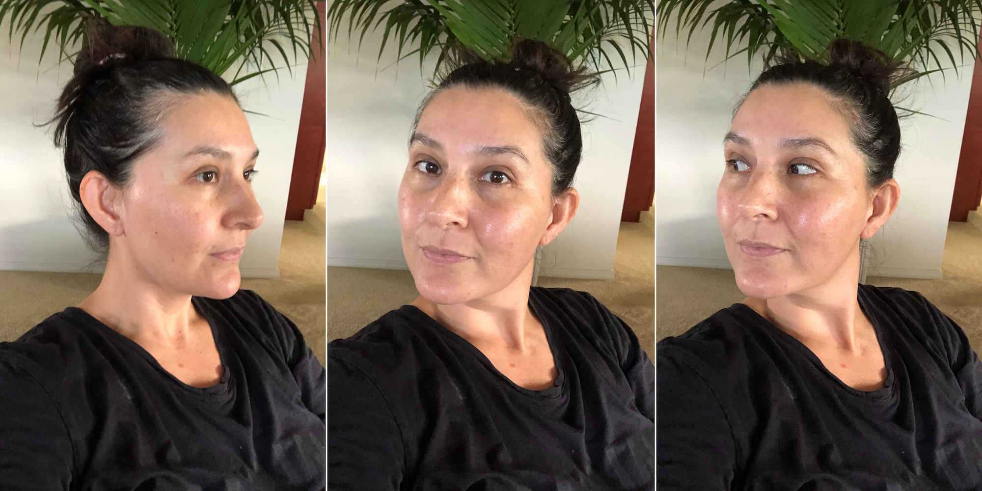 """""""My skin always looked dull and graywith hyperpigmentation, melasma, texture concerns, milia, and hormonal breakouts.I started using Vivant when I was 30, and now I'm 42. I owe the quality of my skin to my Vivant regimen."""""""