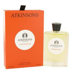 24 Old Bond Street Eau De Cologne Spray By Atkinsons - 3.3 oz Eau De Cologne Spray - Atkinsons