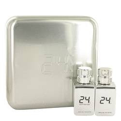 24 Platinum The Fragrance Gift Set By ScentStory - 24 Platinum 1.7 oz Eau De Toilette Spray + 24 Platinum Oud 1.7 oz Eau De Toilette Spray - ScentStory