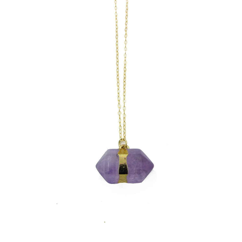 Amethyst Point Necklace