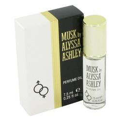 Alyssa Ashley Musk Oil By Houbigant - 0.25 oz Oil - Houbigant