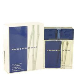 Armand Basi In Blue Eau De Toilette Spray By Armand Basi - 3.4 oz Eau De Toilette Spray - Armand Basi