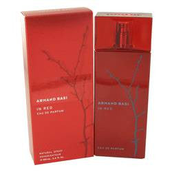 Armand Basi In Red Eau De Parfum Spray By Armand Basi - 3.4 oz Eau De Parfum Spray - Armand Basi
