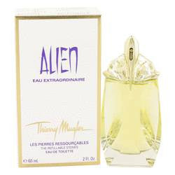 Alien Eau Extraordinaire Eau De Toilette Spray Refillable By Thierry Mugler - 2 oz Eau De Toilette Spray Refillable - Thierry Mugler - 1