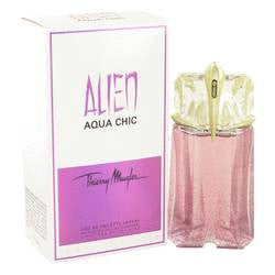 Alien Aqua Chic Light Eau De Toilette Spray By Thierry Mugler - 2 oz Light Eau De Toilette Spray - Thierry Mugler