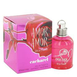 Amor Amor In A Flash Eau De Toilette Spray By Cacharel - 1.7 oz Eau De Toilette Spray - Cacharel - 1