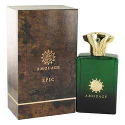Amouage Epic Eau De Parfum Spray By Amouage - 3.4 oz Eau De Parfum Spray - Amouage