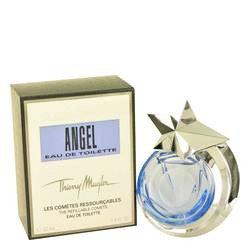 Angel Eau De Toilette Spray Refillable By Thierry Mugler - 1.4 oz Eau De Toilette Spray Refillable - Thierry Mugler - 1