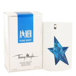 Angel Pure Shot Eau De Toilette Spray By Thierry Mugler - 3.4 oz Eau De Toilette Spray - Thierry Mugler
