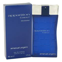 Apparition Cobalt Eau De Toilette Spray By Ungaro - 3 oz Eau De Toilette Spray - Ungaro