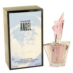 Angel Peony Eau De Parfum Spray Refillable By Thierry Mugler - 0.8 oz Eau De Parfum Spray Refillable - Thierry Mugler