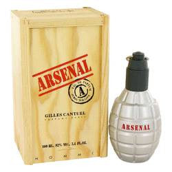 Arsenal Red Eau De Parfum Spray By Gilles Cantuel - 3.4 oz Eau De Parfum Spray - Gilles Cantuel