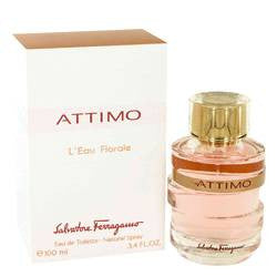 Attimo Leau Florale Eau De Toilette Spray By Salvatore Ferragamo - 3.4 oz Eau De Toilette Spray - Salvatore Ferragamo
