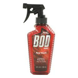 Bod Man Red Rush Body Spray By Parfums De Coeur - 8 oz Body Spray - Parfums De Coeur