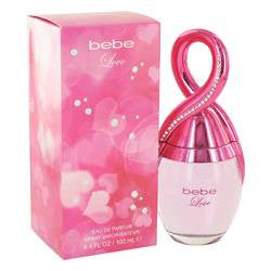 Bebe Love Eau De Parfum Spray By Bebe - 3.4 oz Eau De Parfum Spray - Bebe